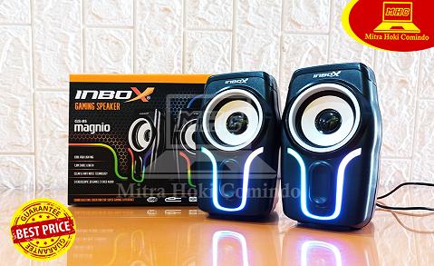 Speaker Gaming Inbox RGB GS05 Magnio USB Murah